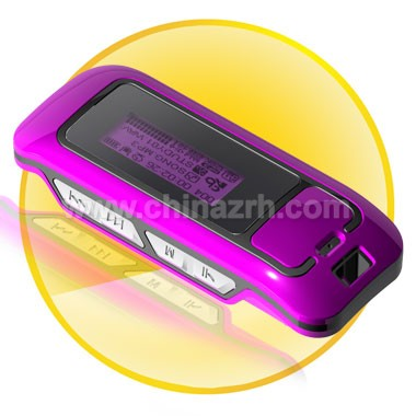 Mp3 player with FM radio records