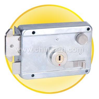 White Chromium Anti-theft lock