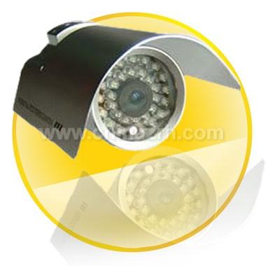 Waterproof IR Camera + 1/4inch Sharp CCD + 6mm Fixed Lens + 30 LED