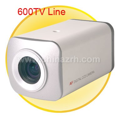 Synchronous Focus Box Shaped Security Camera with 1/3 inch SONY CCD Sensor + 600 TV Lines