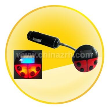 Fashion Ladybug Style Car MP3 Player With 2GB Memory