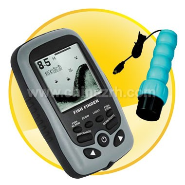 16 Level Gray Scale LCD Display Portable Dot Matrix Fish Finder