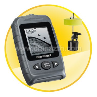 Portable Dot Matrix Fish Finder with LCD Display