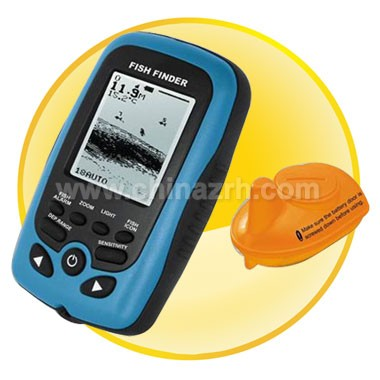 Portable Wireless Fish Finder With LCD Sonar Finder Detector