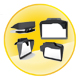 GPS Universal Sunshade-Best Partner for Navigator-Black