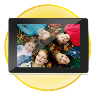 13.3Inch HD Digital Photo Frame with Remote + Media Player
