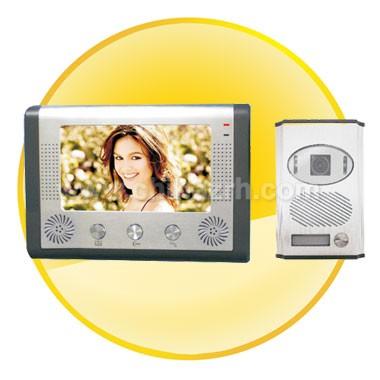 7.0 Inch TFT LCD with High Resolution Waterproof Video door phone
