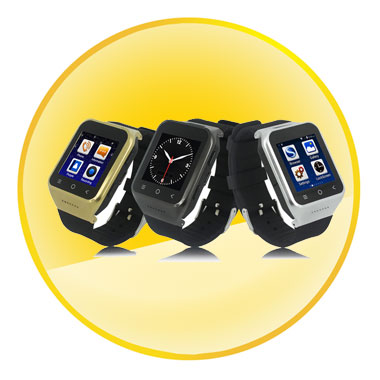High Performance Dual CPU 1.2GHz Processor Android 4.4.2 Watch Phone