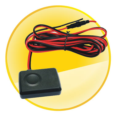 Mini Car GPS Tracker with 40V Working Voltage & Shock Alarm & Free Platform Service Charge