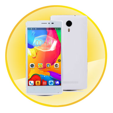 High Performance Quad Core MTK6582 1.3GHz Processor Android 4.4 Mobile Phone