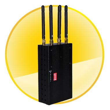 6 Antenna Handheld Phone Jammer & WiFi Jammer & GPS Jammer