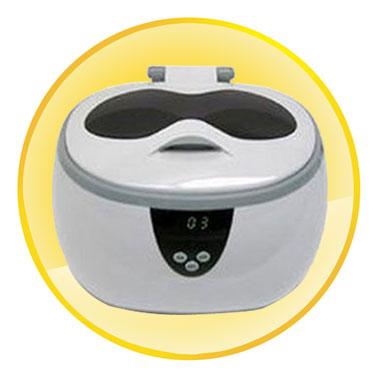 5 Digital Timer Display Deluxe Ultrasonic Cleaner