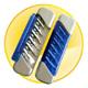 6 Screw Pocket Screwdriver Tool Set with LED