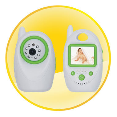Wireless Baby Monitor with 2.4 inch TFT-LCD and Night Vision Camera