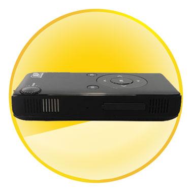 DLP RGB LED Mini Projector Support Windows XP/Vista/Windows 7