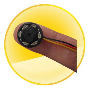 Ultra Small 520TVL Mini CCTV Camera with 6 IRs