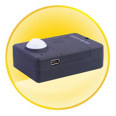 GSM Quad Band SIM Card PIR MP Sensor Alerts