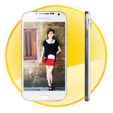 4.8inch  MTK6589 Quad Core 3G Android 4.2 Smart Phone