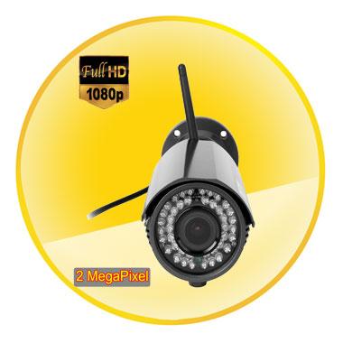 1080P ONVIF Wireless Wifi CCTV IP Camera Recorder IR-Cut 2.0MP Varifocal Lens