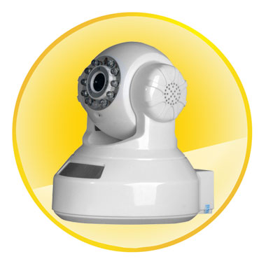 High Performance H.264 Home Wireless IP Cameras