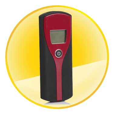 Digital Display Alcohol Tester with Audible Alert