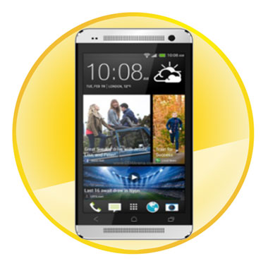 4.7 inch 1.2GHz Quad-core Android 4.2.1 OS Multi-touch Capacitive Smart Phone