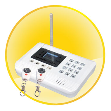 2-Way Communication New GSM Alarm with LCD Panel