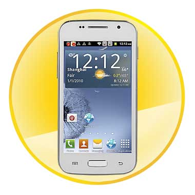 Dual Core 4.0 Inch Android 4.2 MTK6572 Capacitive Touchscreen Cell phone(3G,WiFi)