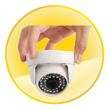 Onvif Mini P2P H.264 IR Cut IP Dome Camera 720P 3.6mm Lens 1.0 Megapixel Night Vision CCTV Security