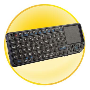 Backlight Design Mini Wireless Keyboard