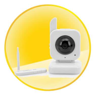 5 Meter Night Vision USB Digital Wireless Baby Monitor