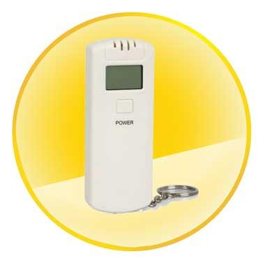 Portable Digital Personal Alcohol Breath Tester