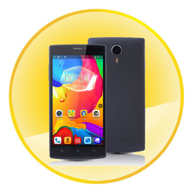 High Performance Quad Core MTK6582 1.3GHz Processor Android 4.4 CellPhone