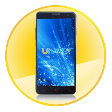 MTK6582 UP520 Quad-core Android 4.4 OS Smartphone with 5.0 IPS Screen