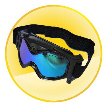 720P HD 130 Degree Wide Angle Camera Ski Goggles