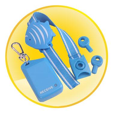 Wristband Anti-lost Alarm with Keys Set