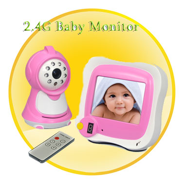 2.4G Baby Montior with 3.5Inch LCD Screen (Night Vision)