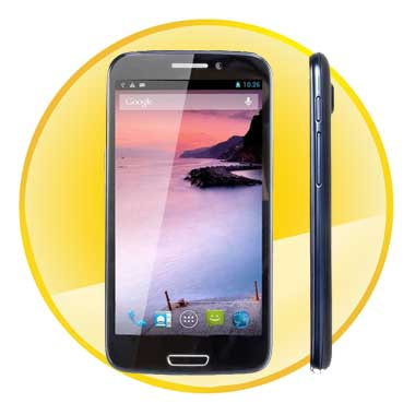 5.3 inch 4-Core Android 4.2 OS Wifi Capacitance Touchscreen Smart Phone