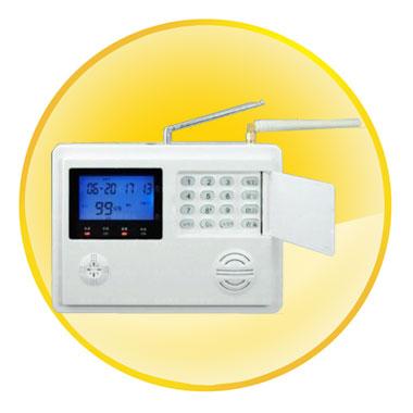 LCD Display GSM & PSTN Alarm System