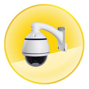 1080P 2.0MP Megapixel 2.8-12mm Lens 4X Zoom With H.264 Onvif 2.2 Mini IP PTZ Camera