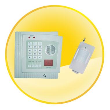 32 Zone Wireless Burglar Alarm System with Remote Control