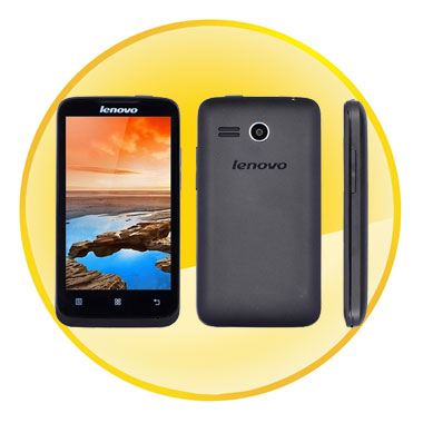 Lenovo A316 4.0 inch Capacitive TFT Touch Screen Android 2.3 MTK6572W Dual-core Smart phone