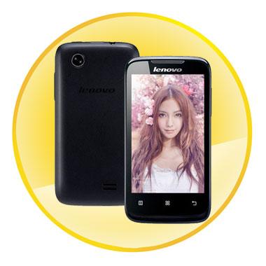 Lenovo A369 Dual-Core Android 2.3 WCDMA Bar Phone