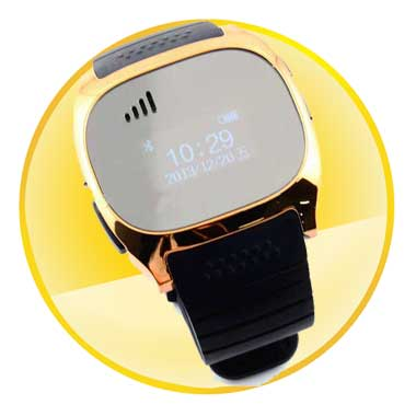 Bluetooth 3.0 LCD Display Wrist Watch Synchronize Phone Android 2.3 Smart Watch