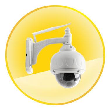 Coolcam H.264 TF Card HD IR-CUT Zoom P2P IP Camera