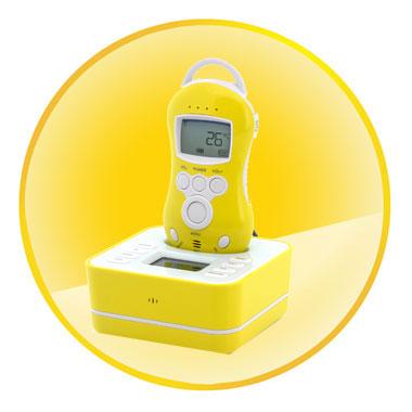 300m Two Way Audio Wireless Baby Monitor